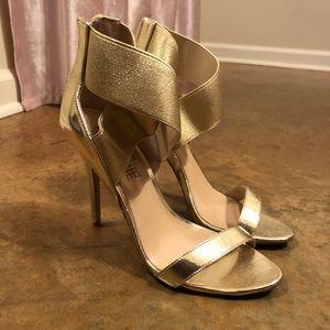 Madden Girl Gold Heels